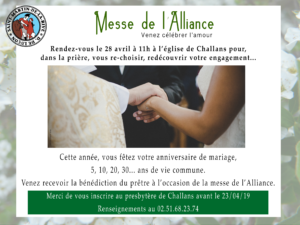 Messe de l'Alliance @ Eglise de Challans